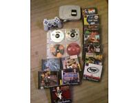 Sony ps1 console and games bundle