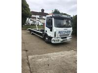 Two car transport ford iveco 75E18