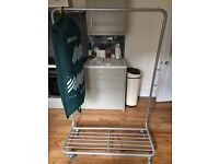 Strong metal clothes rail