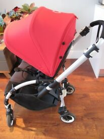 Bugaboo Bee3 red canopy for £350 (RRP £575 with receipt). used less a year, very good condition