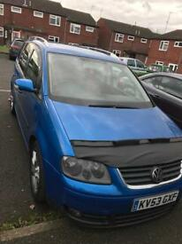 Volkswagen touran 2.0l tdi sports modified