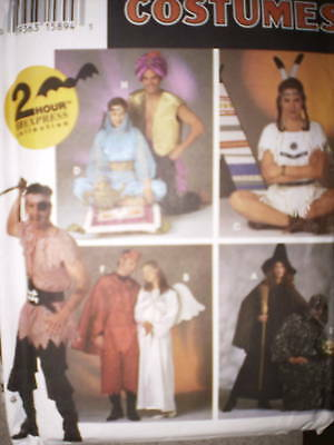 Pirate Halloween Costume Pattern (9169 UNCUT Simplicity Pattern Halloween Costume Pirate Genie Witch Indian)