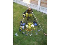 Dunlop Junior Golf Club Set - with Extras