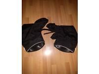 Tucano Urbano Motorcycle Hand Grip Covers / Handlebar Muffs Black
