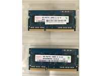 HYNIX Laptop Memory 4GB (2x2GB)