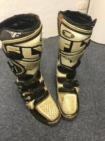 TS Fly Motocross boots