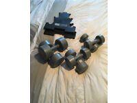 Pro Fitness 5kg Dumbell Set