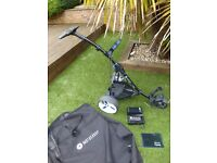 Motocaddy S3 Pro Electric Trolley & 36 Hole Lithium Battery