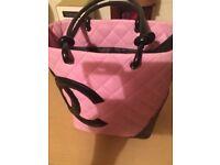 Chanel pink combon bag