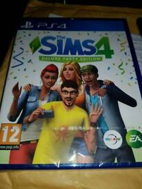 Sims 4 deluxe party edition ps4