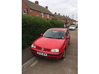 Volkwagen Golf 1.6 16v VW, sunroof, 10 months MOT