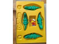 Crazy crocodiles board game