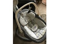 Joie 2 in 1 swing chair AS NEW