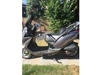 Kymco miler 125 scooter moped not piaggion x8