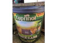 2 6litre Tubs of Cuprinol Fence Care
