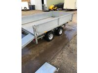 LT85 G Ifor williams Trailer 8 x 5 with ramps and whinch