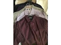 Men's shirts mix of worn & unworn Burberry Pretty Green Ted Baker River Island DKNY