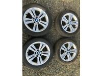 Bmw 3-4 series 17 inch alloys wheels vivaro alloys trafic alloys transporter