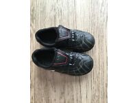 Boys Clarks shoes size 10f