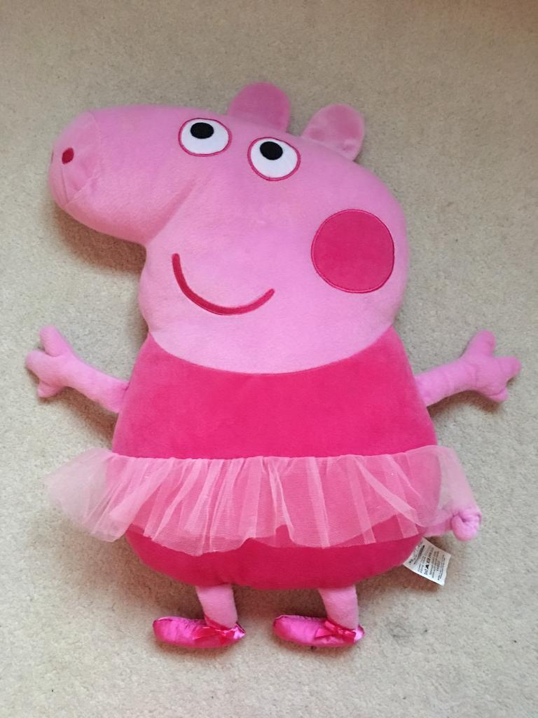 Peppa Pig Ballerina Cushion In Didcot Oxfordshire Gumtree
