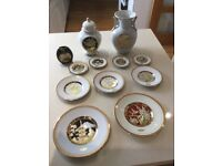 A selection of 24KT Chokin pottery. Open to offers. To sell as a collection or individually