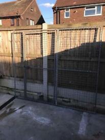Galvanised 3ft Panel & 4ft Gate Panel
