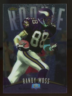 1998 Topps Finest #135 Randy Moss RC Rookie