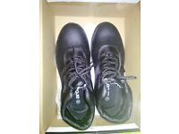 Brand New Safety shoes Black Colour