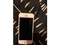 iPhone 5s silver 16gb 02 network £80!