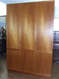 WARDROBE TRIPLE G-PLAN EXCELLENT CONDITION COLLECTORS PIECE FREE EDINBURGH DELIVERY AND RE-BUILD