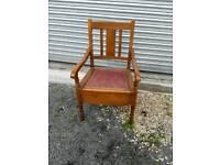 Bedroom carvers chair