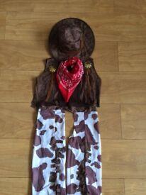Halloween Cowboy Costume 2-3 years