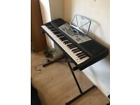 MK 906 Keyboard With Folding Stand