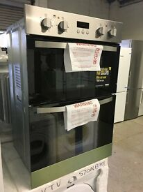 Zanussi ZOD35511XK Double Electric Oven, Stainless Steel