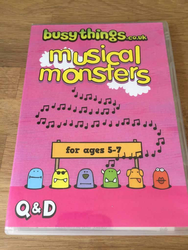 Musical Monsters Educational Music Composition Software