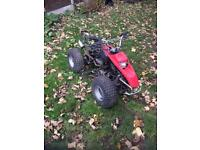 2 Stroke quad bike