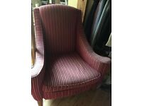 FREE two very COMFORTABLE armchairs, worn but clean.