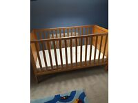 Babylo cot and mattress for sale in excellent condition
