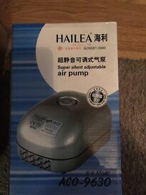 hailea air pump x2