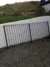Balcony or Garden Railing-Galvanised Steel
