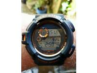 Digital mens watch