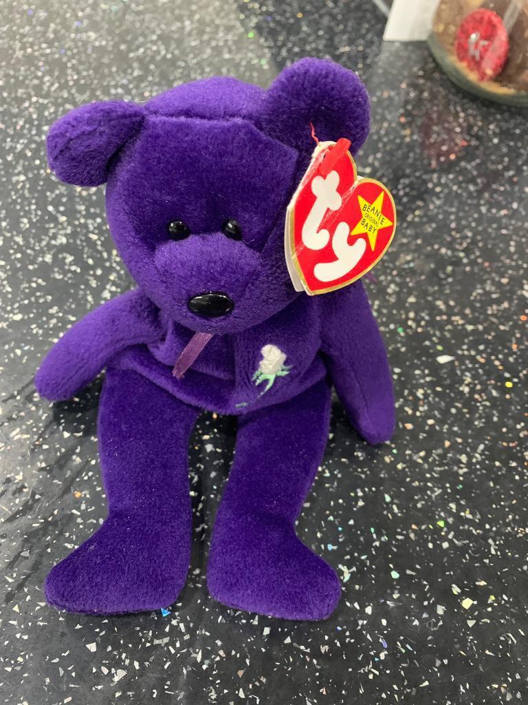 2f579d367d4 TY Princess Diana Beanie Bear. Norwich