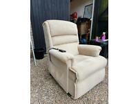 Power riser recliner chair