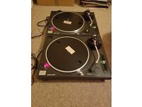 Technics SL1210's mk2 pair