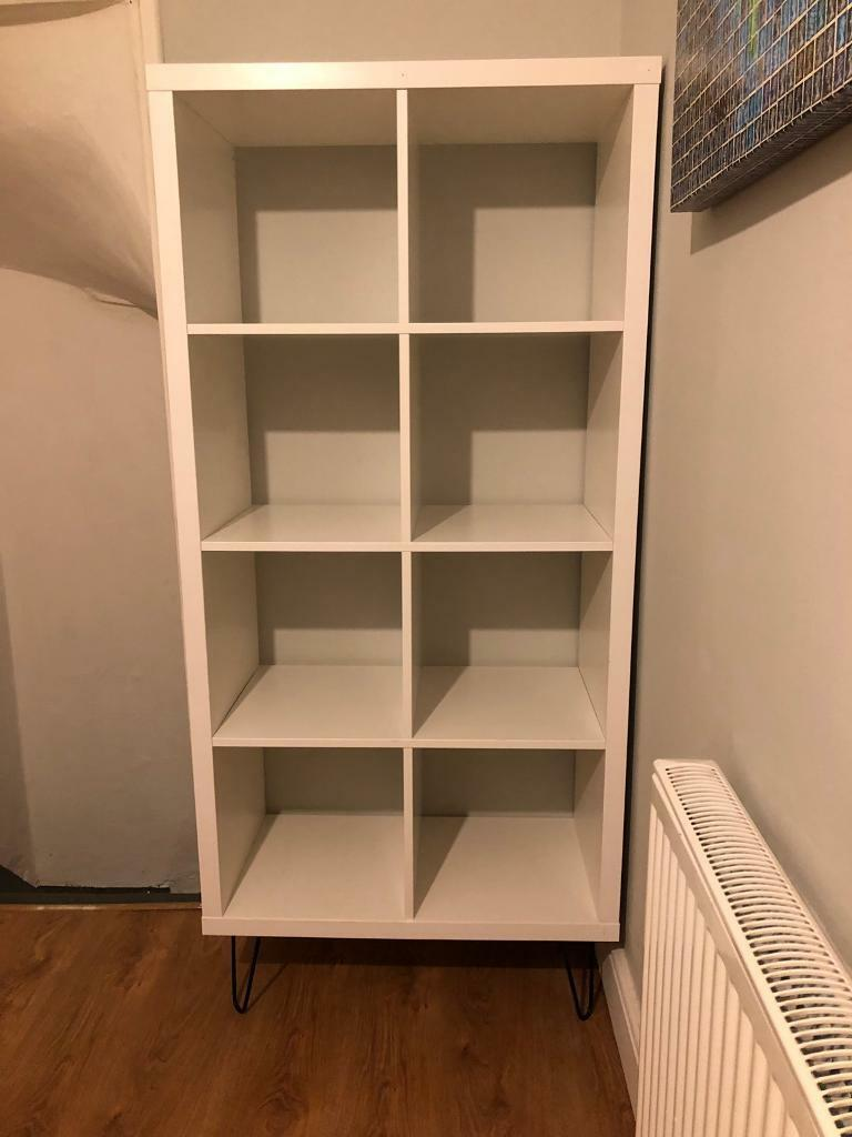 new concept 192d6 11123 Ikea Kallax shelving unit on hairpin legs | in Beeston, West Yorkshire |  Gumtree