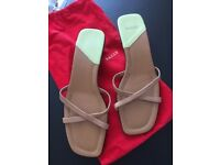 Bally Summer Sandals size 6 nude colour