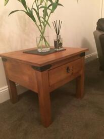 NEXT - SOLID WOOD SIDE TABLE