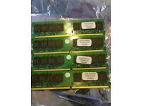 4 X 2GB KINGSTON DDR2-800 FG5/8K RAM