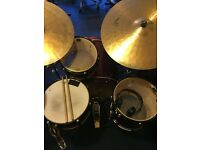 Ddrum Diablo 5 Piece Drum Kit + Stands, Cymbals and Double Bass Pedal (PRICE DROP)