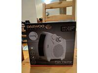 DAEWOO portable heater 2000W